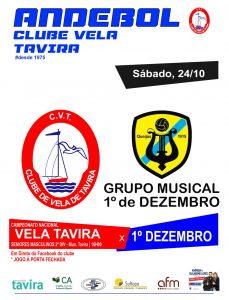 CLUBE DE VELA DE TAVIRA v 1 DEZEMBRO