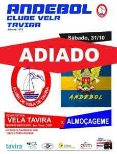 CLUBE DE VELA DE TAVIRA v ALMOÇAGEME TAÇA DE PORTUGAL Seniores Masculinos 2 Div 17h 00