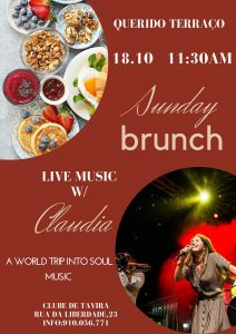 ENTUSIASTA CATERING & EVENTS SUNDAY BRUNCH with CLAUDIA 11.30