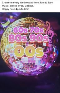 MUSIC with DJ GEORGE WEDNESDAY 60´S 70´S 80´S 90´S 00´S MUSIC